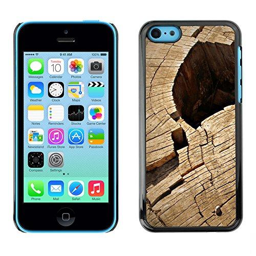 Premio Sottile Slim Cassa Custodia Case Cover Shell // F00013163 bois // Apple iPhone 5C