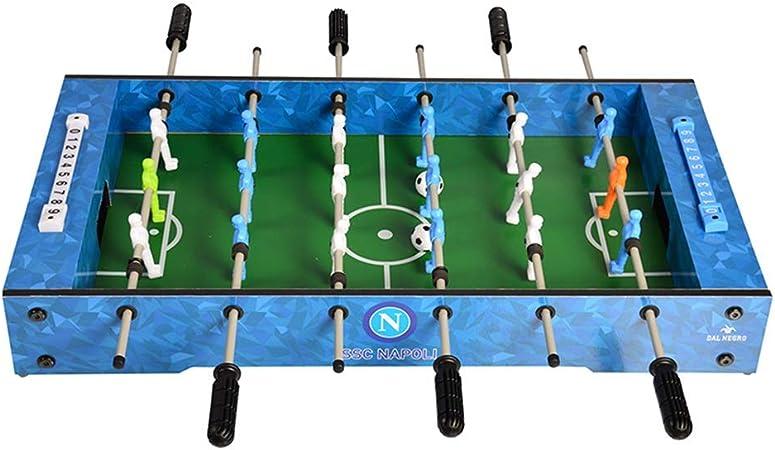 ASDFGG-toy Mesa de Billar Plegable Los titulares compacta Mini Mesa de futbolín futbolín Mesa for Home Juego (Color : Azul, tamaño : 69x37x10cm): Amazon.es: Hogar