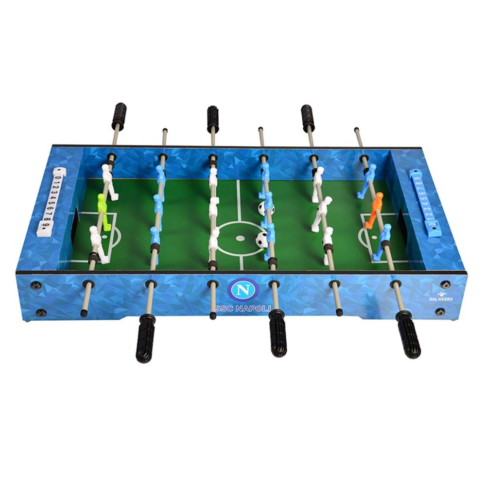 Compact Mini Tabletop Foosball Table Foosball Table Holders for Home Game (Color : Blue, Size : 69x37x10cm) by Forgiven