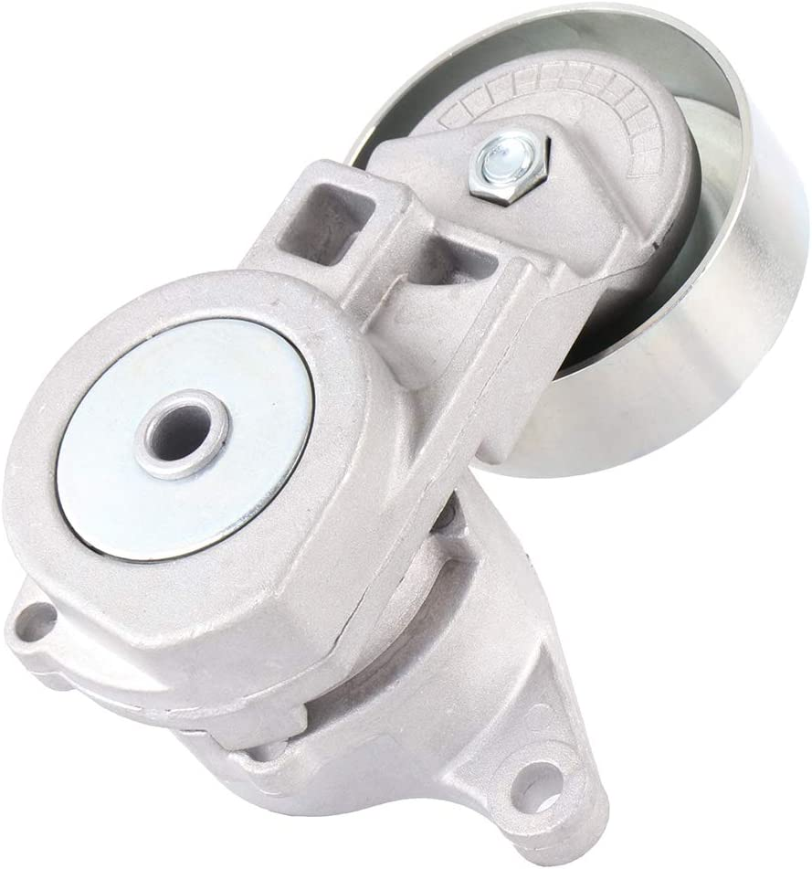 A-Premium Serpentine Belt Tensioner Assembly with Idler Pulley Compatible with Mitsubishi Eclipse 2006-2012 Galant 2004-2012 Lancer 2003-2006 Outlander 2003-2006