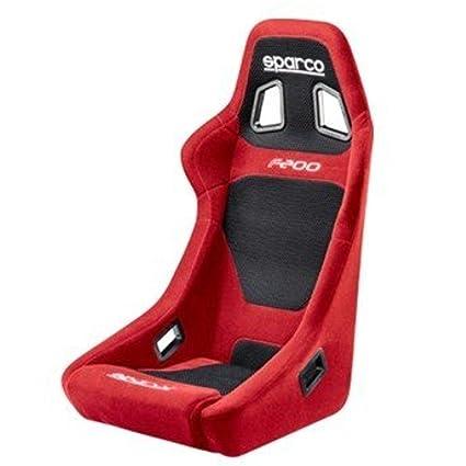 Sparco 00917RS - Asiento (F200, rojo): Amazon.es: Coche y moto