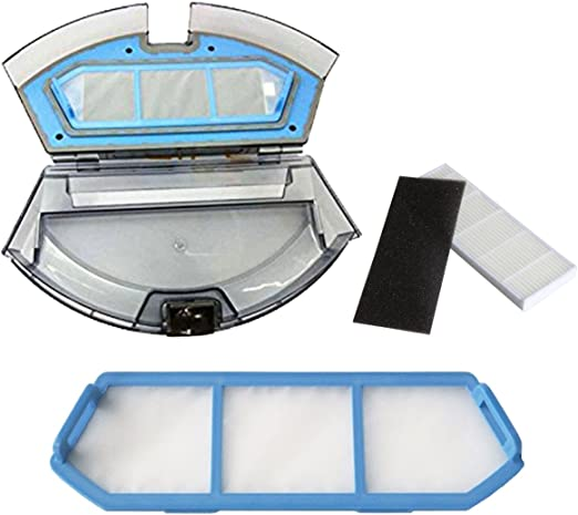 TeKeHom Reemplace la Caja de Polvo para iLife A4 A4S Robot ...