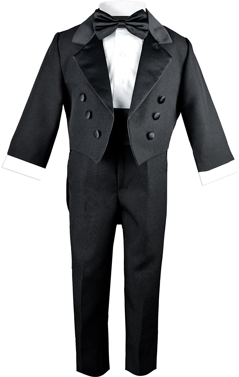 Black n Bianco Baby Boys Toddlers Black Tuxedo with a Tail
