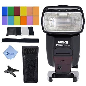 Meike MK-600 Ettl Ettl II GN60 1/8000S HSS Speedlite flash para ...