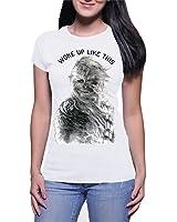 Star Wars Chewbacca Woke Up Like This Juniors Boyfriend T-shirt