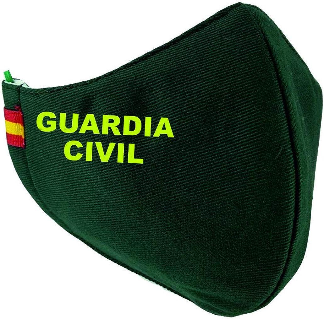 Mascarilla Guardia Civil Bandera España: Amazon.es: Ropa y accesorios