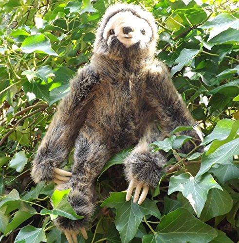 "Realistic Stuffed Sloth - 16"" Sloth Stuffed Toy Animal New"