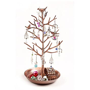 Amazoncom Jewelry Tree Rack Tower Display Stand Organizer Holder