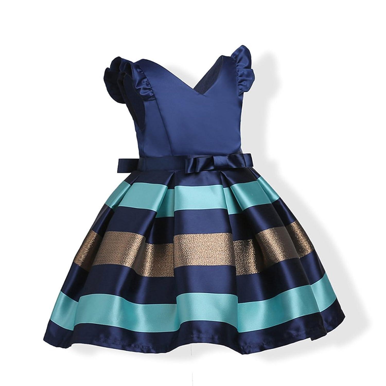 Amazon.com: LesTT Girls Christmas Dresses Princess Dresses Bowknot Sleeveless Party Wedding Dress for Kids: Clothing