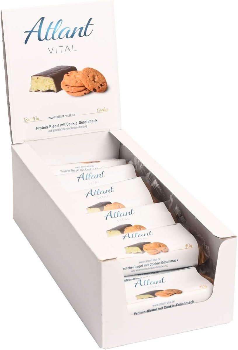 Barritas de proteínas Atlant Vital Protein 7 sabores 18 x 40 ...