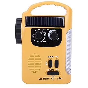 Manivela Solar de Radio portátil, Radio Climatica ...