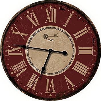extra large wall clocks amazon red clock decorative cheap contemporary uk