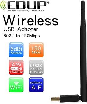 Libro Electrónico Antena USB Wireless Nano Adaptador Wi-Fi ...