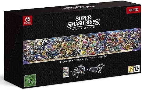 Super Smash Bros: Ultimate - Edición Limitada: Nintendo: Amazon.es ...