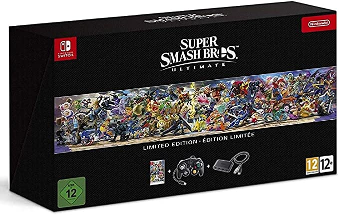 Super Smash Bros: Ultimate - Edición Limitada: Nintendo: Amazon.es: Videojuegos