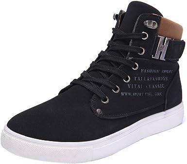 Faionny Mens Shoes Matte Ankle Boots
