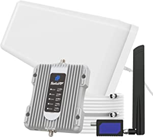 SolidRF Cell Phone Signal Booster-for Home, Convenience Store, Apartment, Workshop | All U.S. Carriers Verizon, AT&T, T-Mobile, Sprint & More | Supports 3,000 sq ft