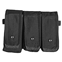 Fox Outdoor Products Rip-Away AR-15/AK 47 Triple Mag Pouch Black