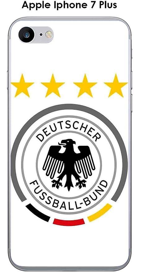 Onozo Cover Apple Iphone 7 Plus Design Calcio Germania Sfondo Bianco
