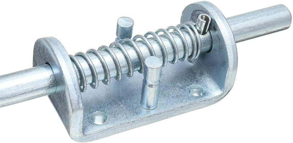 Wchaoen Chiavistello per Serratura a bullone Caricato a Molla in Acciaio Inossidabile per cancello del rimorchio componenti Hardware