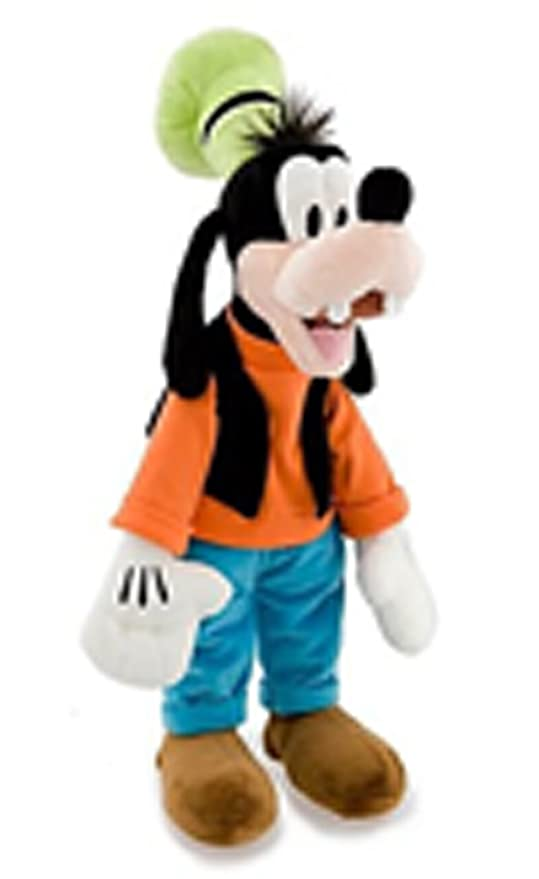 9d98abbb645 Image Unavailable. Image not available for. Color  Disney Goofy Plush Toy  ...