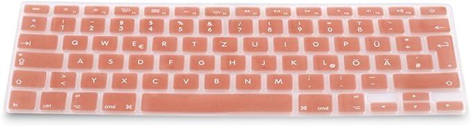 mit oder ohne Retina-Display, 2015 oder /ältere Version MacBook Air 13 Zoll 15 Zoll MMDW EU//UK Silikon-Tastatur-Abdeckung kompatibel MacBook Pro 13 Zoll