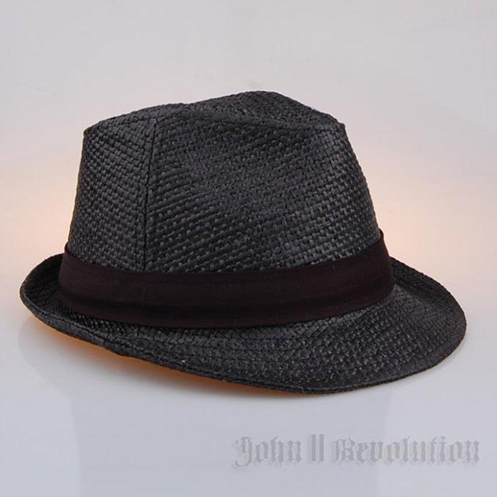 J2R Hemp Jute Straw Type Trilby Big Size Beach Fedora Hat