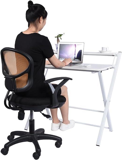 Yosoo Plegable Mesa Escritorio de Computadora, PC, Ordenador ...