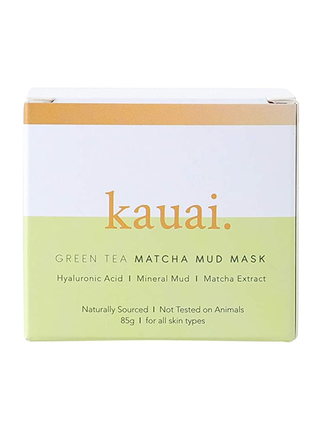 Máscara de té verde Matcha natural de barro para rejuvenecer ...