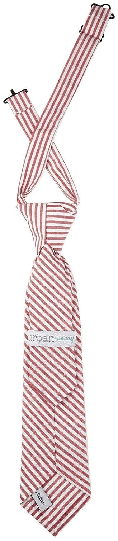 Red//White Urban Sunday Little Boys Norfolk Tie