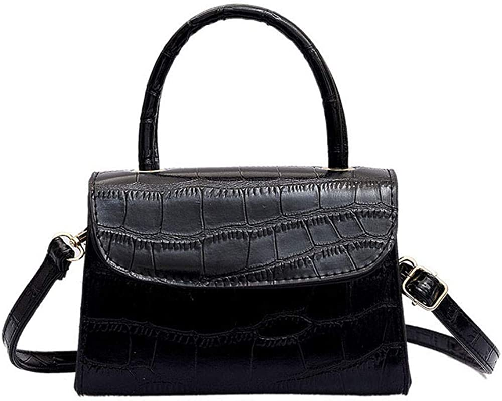 Wulofs Summer 2019 NewFashion Women Simple Solid Color Shoulder Bags Messenger Hasp Phone Bag