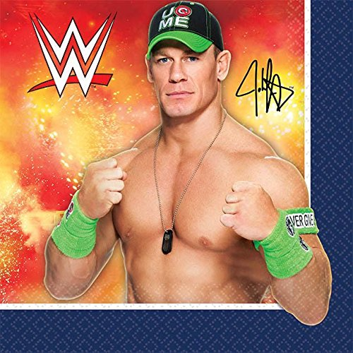 WWE Beverage Napkins (16 Pack) - Party -