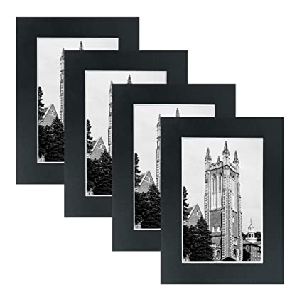Amazon.com - Mat Board Picture Frames - Multi Pack Frame Set 4pc ...