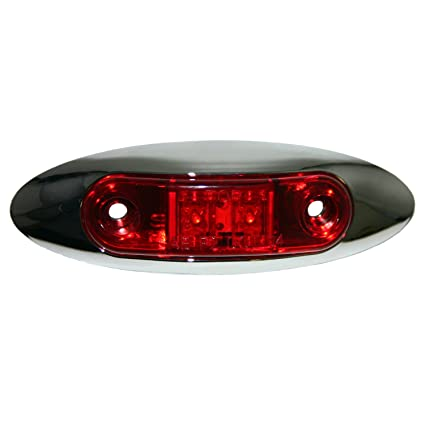 Blazer C322R LED Mini Clearance Light - Red on