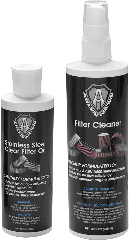 Arlen Ness Air Filter Cleaner//Oil Kit Clear 18-075