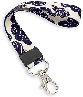SKL003, Wristlet Premium Wrist Lanyard Crimmy Key Ring Lanyard Strong Wrist Lanyard for Keys Vintage Keychain Straps for Men Women