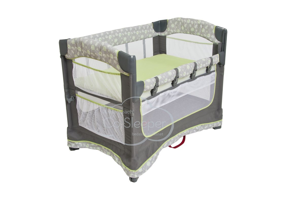 Arm's Reach Concepts Ideal Ezee 3-in-1 Bedside Bassinet - Dandelion Arm's Reach Concepts 9421-DA