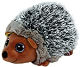 Carl etto Ty 42125Spike Glitter Eye Beanie Babies Hedgehog, 15cm, Grey by Carletto Ty
