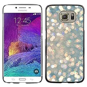 LECELL--Funda protectora / Cubierta / Piel For Samsung Galaxy S6 SM-G920 -- Snow Diamonds Glitter Winter Sun --