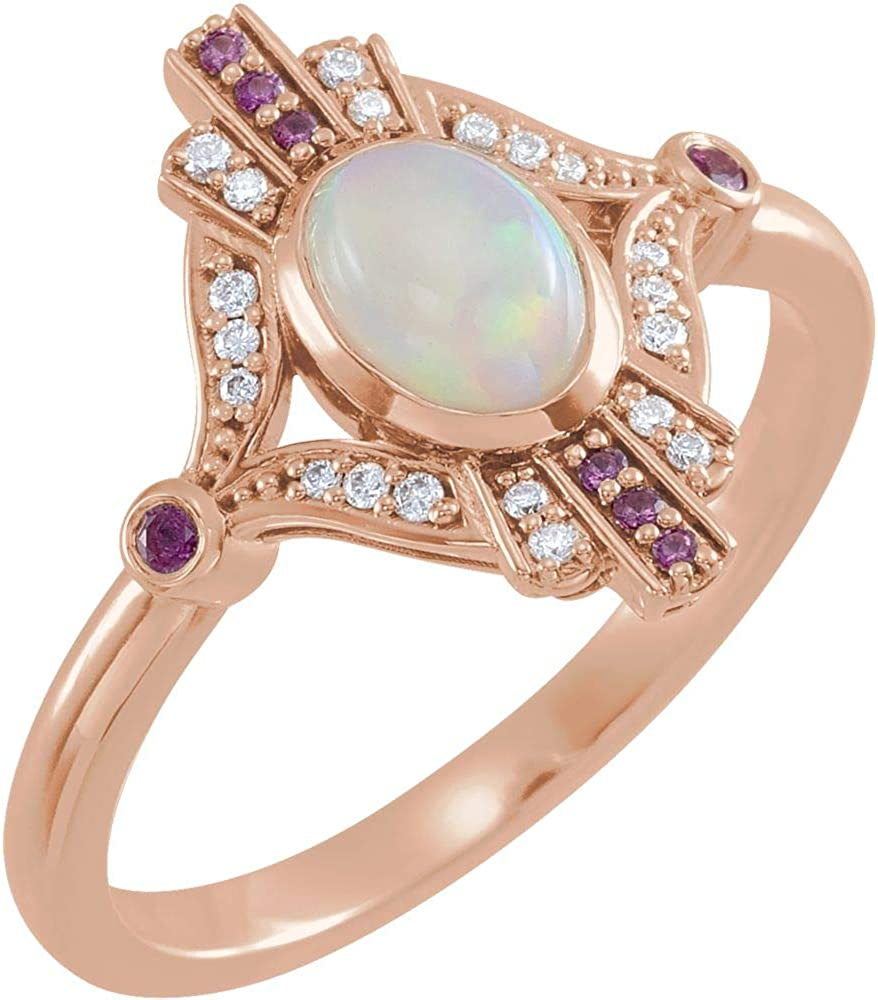 Christmas Gift Ring 925 Sterling Silver Designer Opal Ring Pink Gemstone Ring Pink Opal Ring Rose Gold Fill  Grown Pink Opal Ring