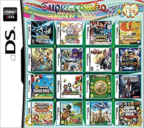 Yaogroo 208 juegos en 1 NDS Game Pack Tarjeta Super Combo Multi-Cardge para DS NDS NDSL NDSi 3DS 2DS XL: Amazon.es: Electrónica
