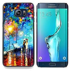SKCASE Center / Funda Carcasa protectora - Colorful City Park;;;;;;;; - Samsung Galaxy S6 Edge Plus / S6 Edge+ G928