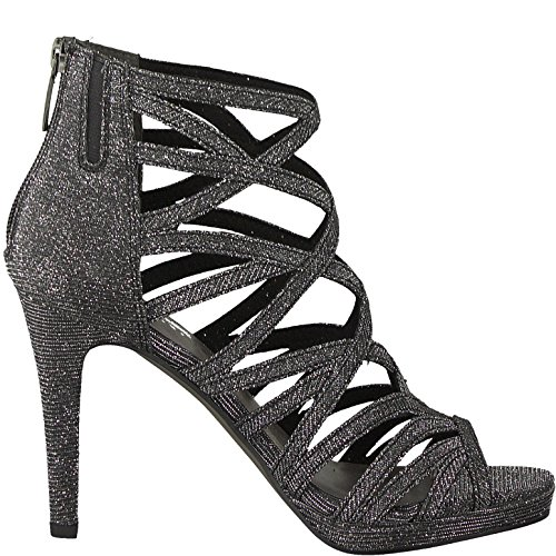 für Sandalette modebewusste 1 die Damen Frau Black 20 1 Tamaris 28014 Sandale Glam Sommerschuhe fwY8qav