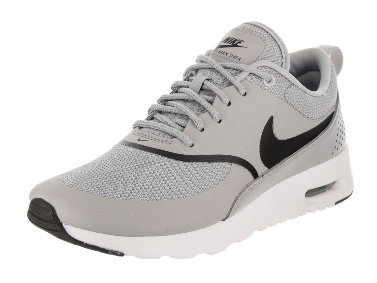 NIKE Women's Air Max Thea Wolf GreyBlack Running Shoe 9.5 Women US