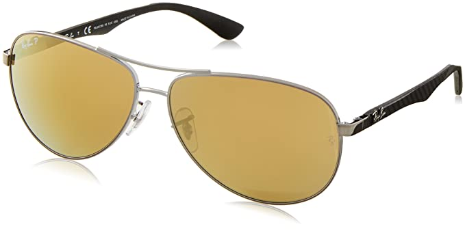 Amazon.com: Ray Ban 0Rb8313 Gafas de sol estilo aviador ...