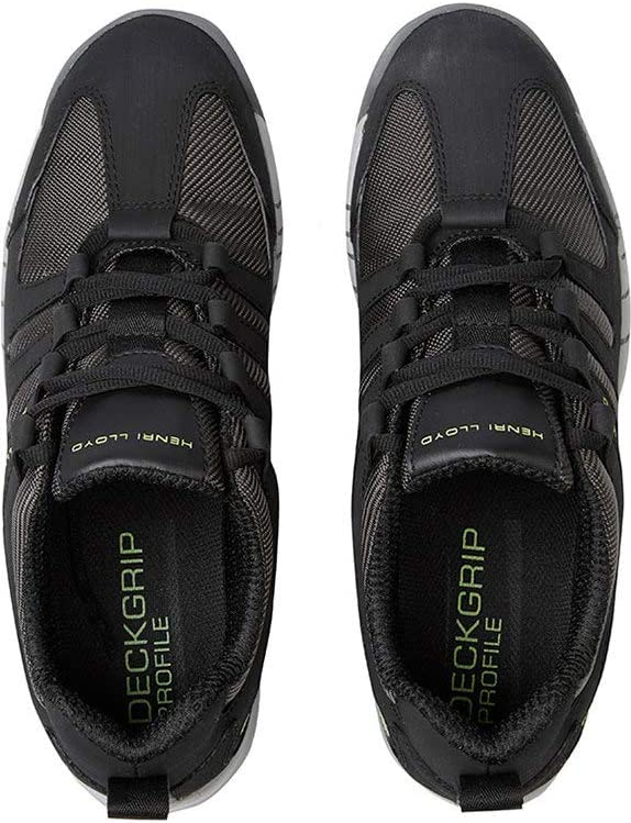 Henri Lloyd Deck Grip Profil Bootsschuhe f/ür Segeln Yachting Deck Schuhe in Schwarz Bew/ährte Leistung