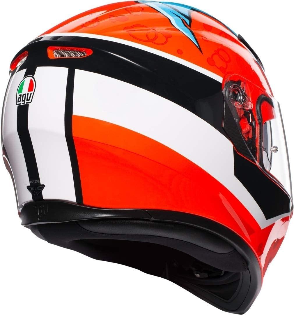 61//62 AGV K-3 SV Five Continents Helm XL