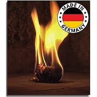 Allume-cheminée 15 kg bio allume-feu pour cheminée en laine de bois