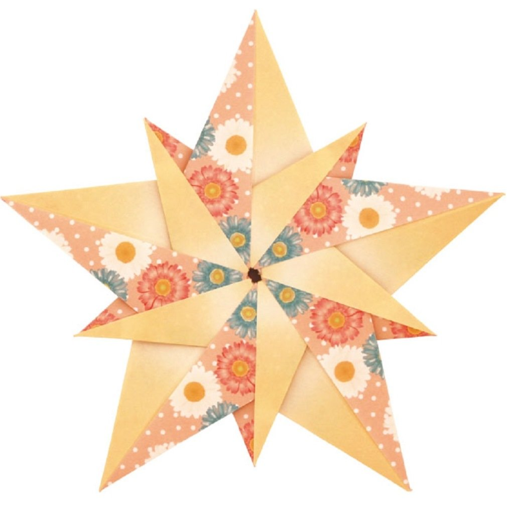 Amazon toyo japanese origami star kit with english amazon toyo japanese origami star kit with english translation of folding processes of 11 different stars 3 inch square 210 sheets office products jeuxipadfo Images