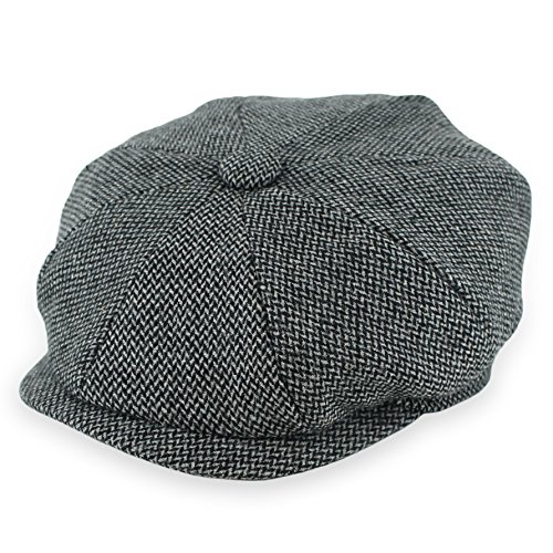 fdffa353a Jual Belfry Newsboy Gatsby Men's Women's Soft Tweed Wool Cap in 8 ...